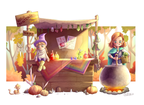Witch sisters - magic shop