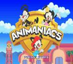 Animaniacs SNES reboot ROM hack title screen