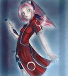 Haruno Sakura by foxfanart