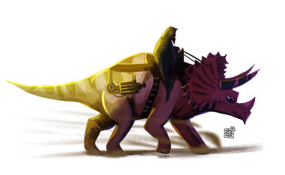 Dino by dakalister