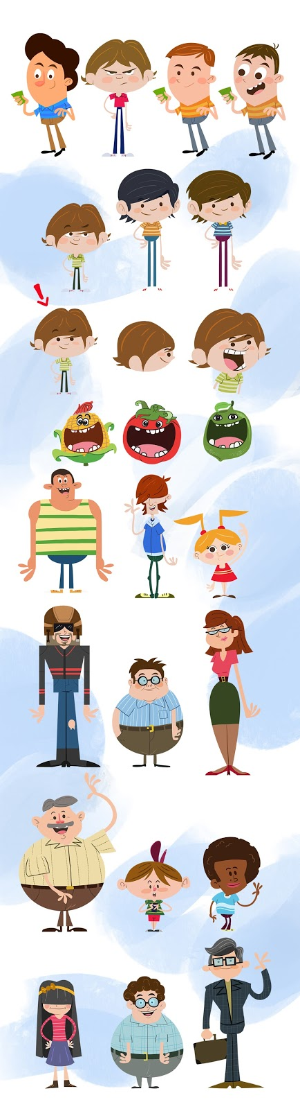 character design for a tv comercial by dakalister