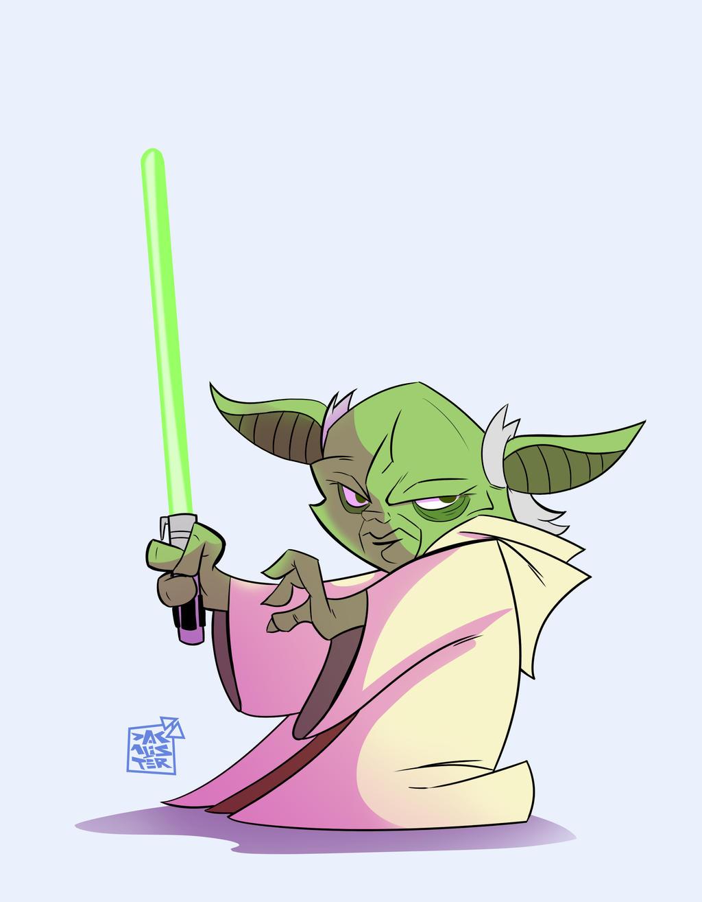 Yoda Copy by dakalister