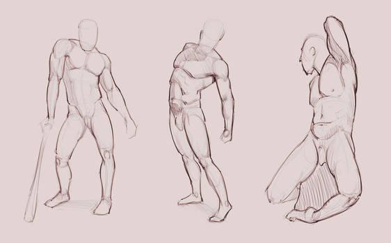 Poses Study