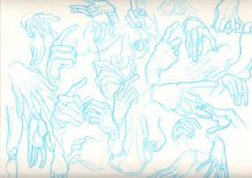 hands by Robertwarrenharrison