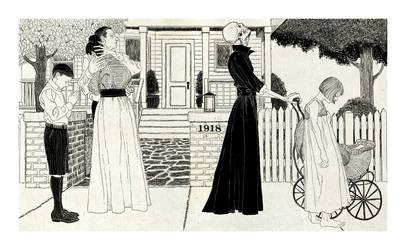 Danse Macabre 1918 by Robertwarrenharrison