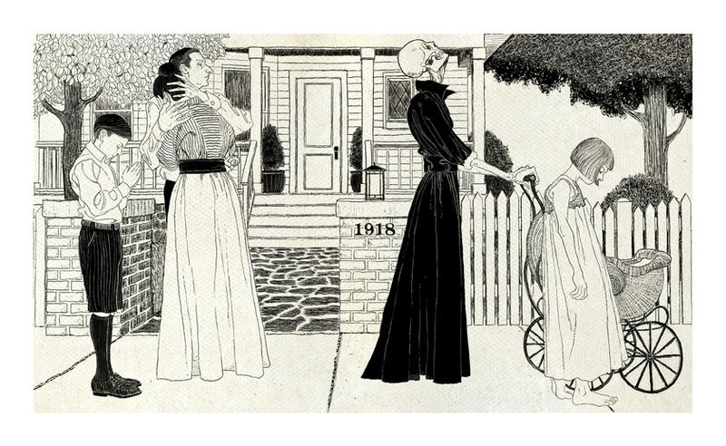Danse Macabre 1918 by RWHarrison
