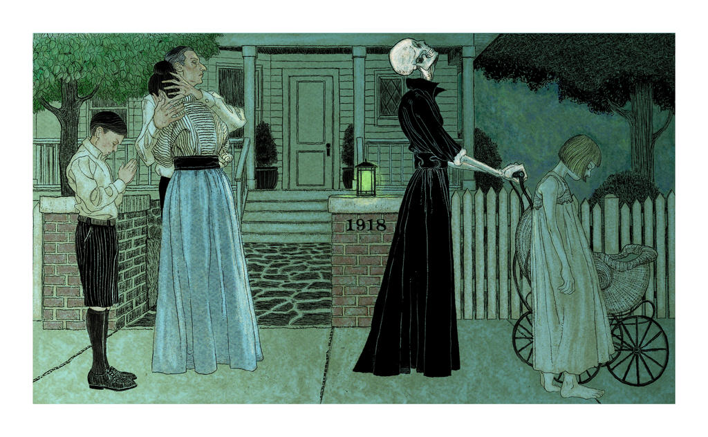 Danse Macabre color by RWHarrison