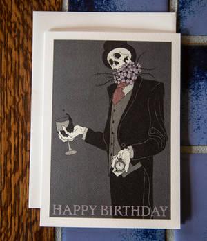 Morbid Birthday Card