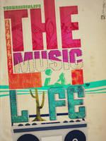 Music l i f e. by wiszdomart