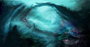 underwater corridor