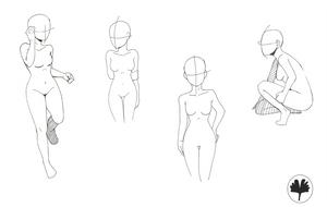 Poses by MarshmellowHeaven