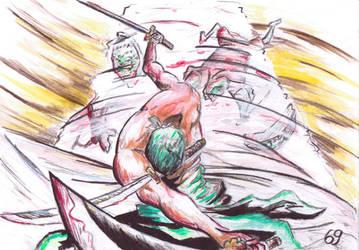 Zorro art by Choparini