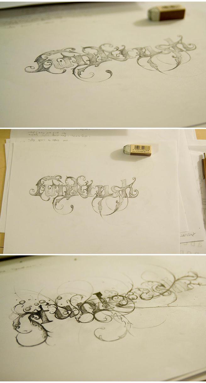 Drawings for 'Funkrush' by lee25