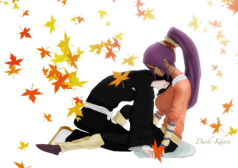 yoruichi and byakuya relationship