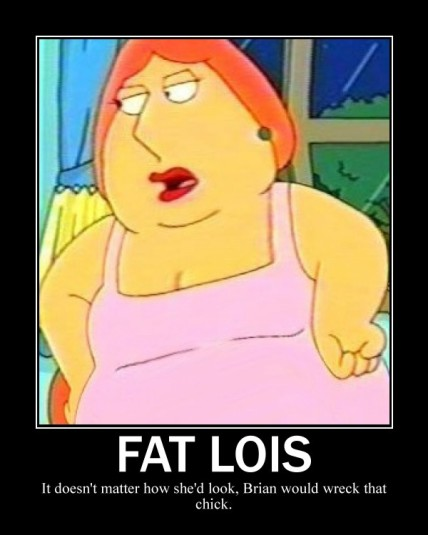 naked chubby lois griffin