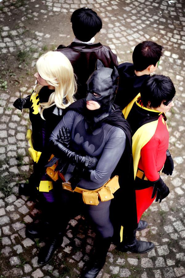 Batman - Bat Family by acophoto