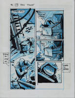 IDW TNMT One Page Seventeen by Kevineastman
