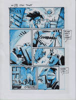 IDW TMNT One Page Nineteen by Kevineastman