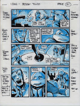 IDW TMNT Book Two Pg 21