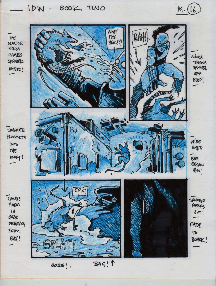 IDW TMNT Book Two Pg 16 by Kevineastman