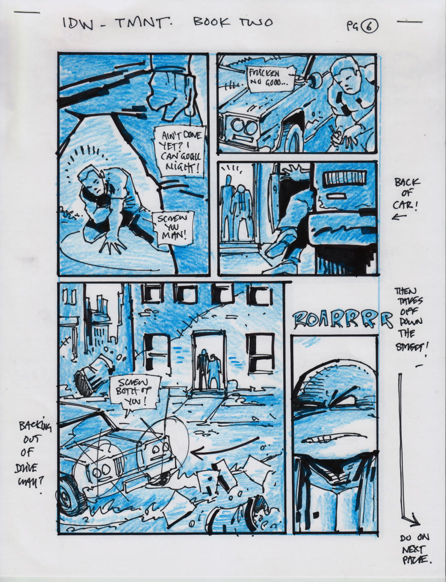 IDW TMNT Book Two Pg 6