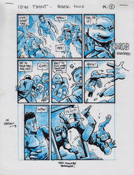 IDW TMNT Book Two Pg 5 by Kevineastman