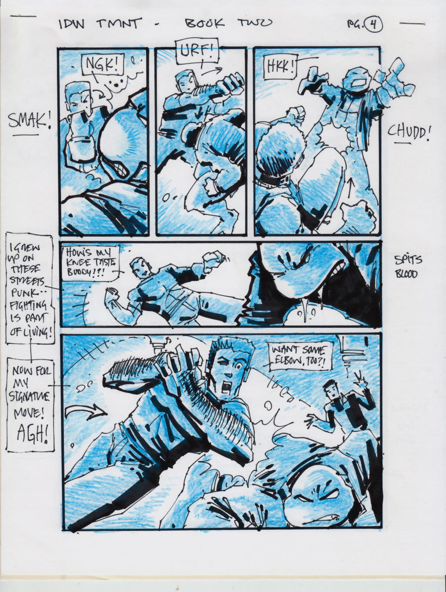 IDW TMNT Book Two Pg 4