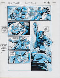 IDW TMNT Book Two Pg 3 by Kevineastman