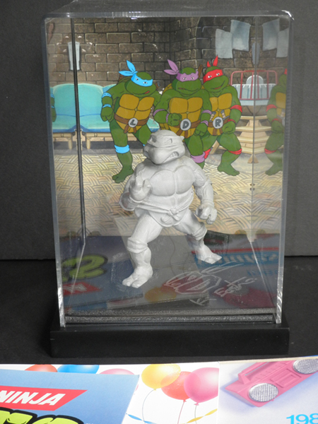 Lot #1 TMNT Resin 2 by Kevineastman