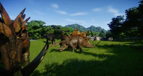 Jurassic World Evolution - World of hybrids 03 by KanshinX3