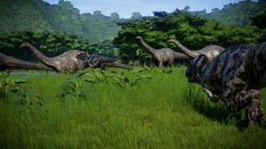 Jurassic World Evolution - Jurassic Hunt 02