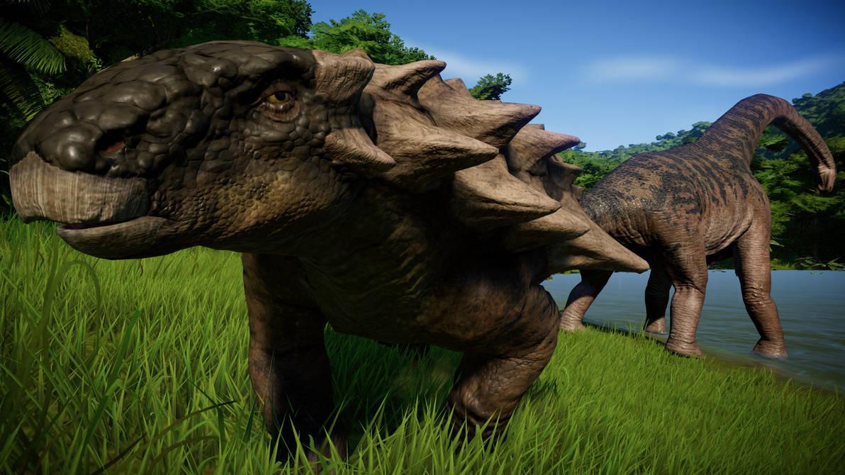Jurassic World Evolution - Smells good by KanshinX3 on