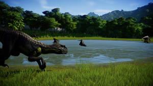 Jurassic World Evolution - IndoRaptorRudel 05