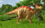 Wildlife Park 3 - Parasaurolophus