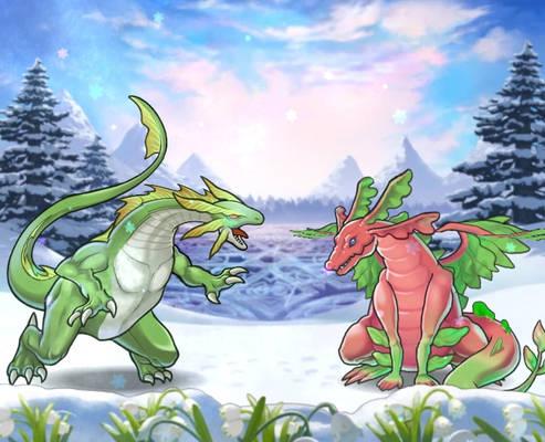 Fire Emblem Heroes - Ninian and Nah