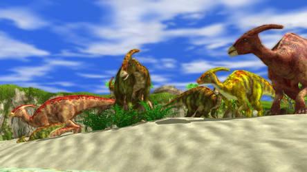 Wildlife Park 3 - Parasaurolophus 03