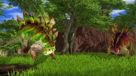 Wildlife Park 3 - Stegosaurus 03