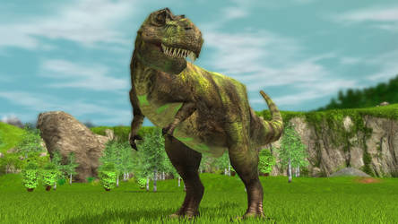 Wildlife Park 3 - Tyrannosaurus 04