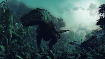 Jurassic: The Hunted - Tyrannosaurus