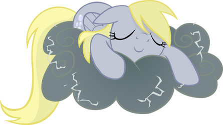 Derpy Hooves Vector Wallpaper 2 by swBanan1