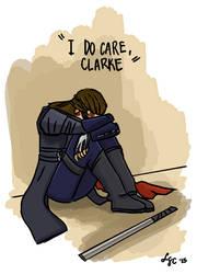 I do care, Clarke by alternativejunkie