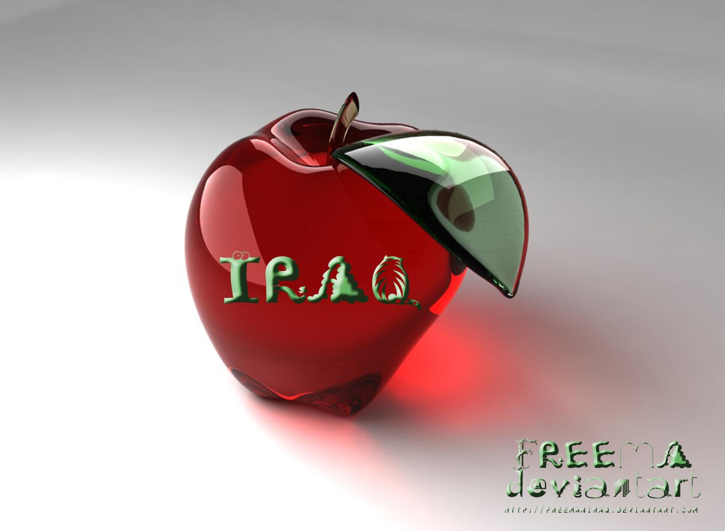 Iraq Apple by freemaniraq