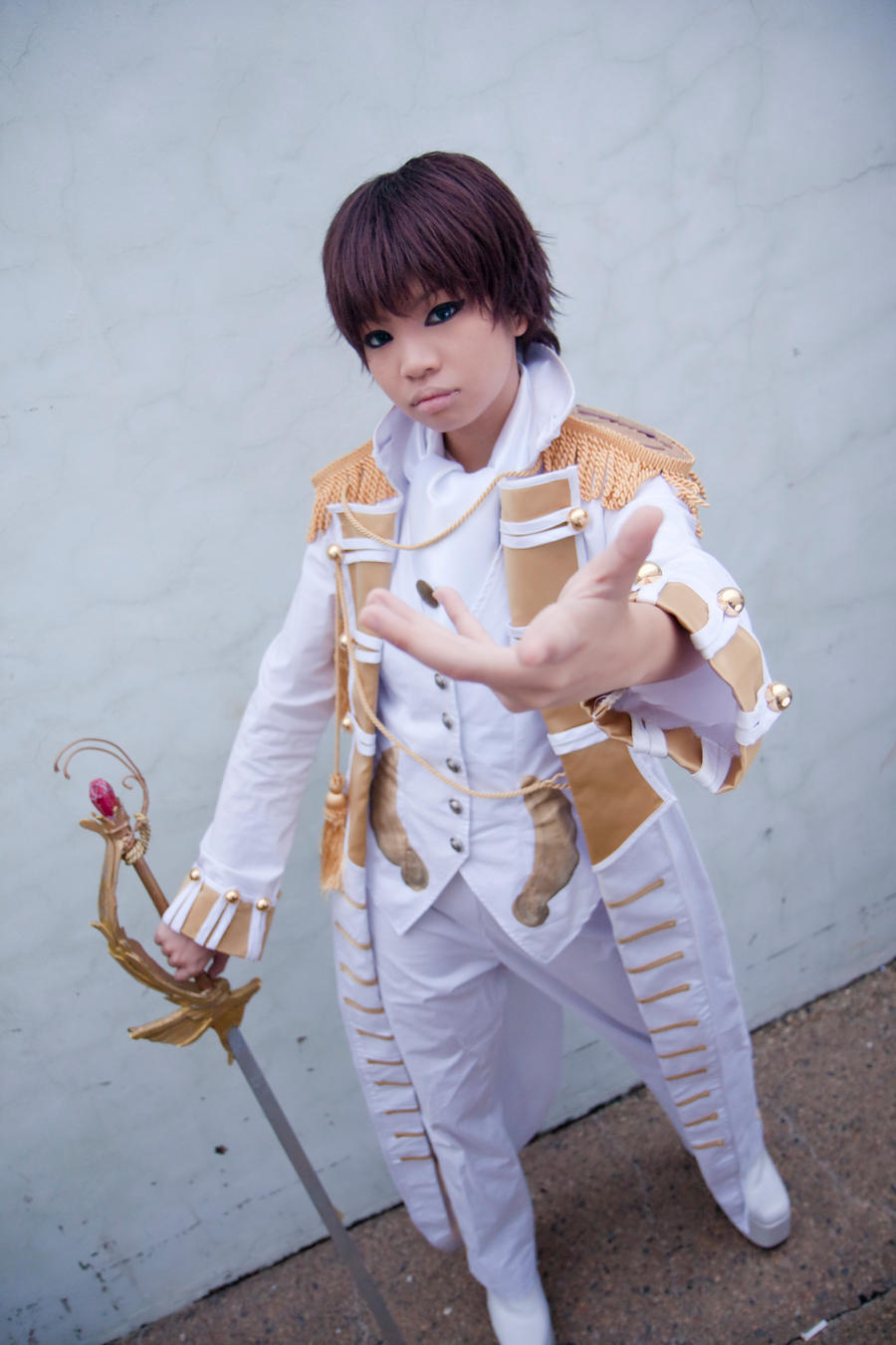 Your Hand In Mine - Suzaku by melo-01