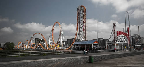 Coney Island by moonstomp