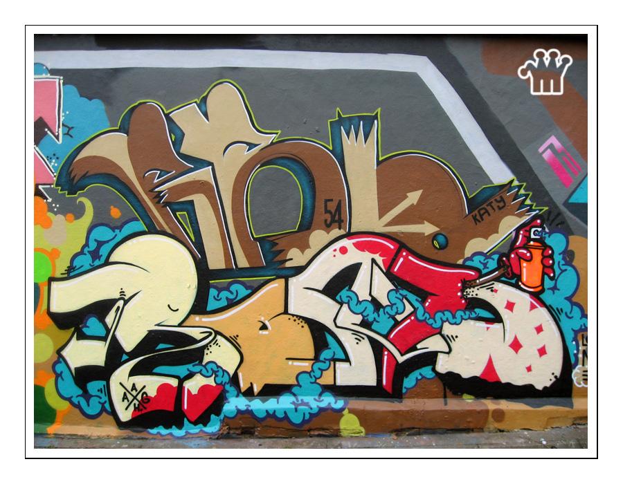 Graffiti XV by moonstomp