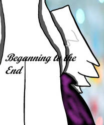 Cover of my new comic *The Beganning of the End* by Pawzyanimatons