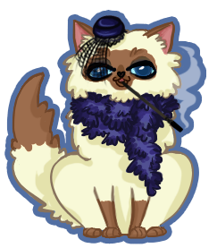 The Lovely Miss Fiona - Pocketcat by kvweber