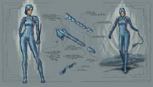 Cyborg concept - assassin