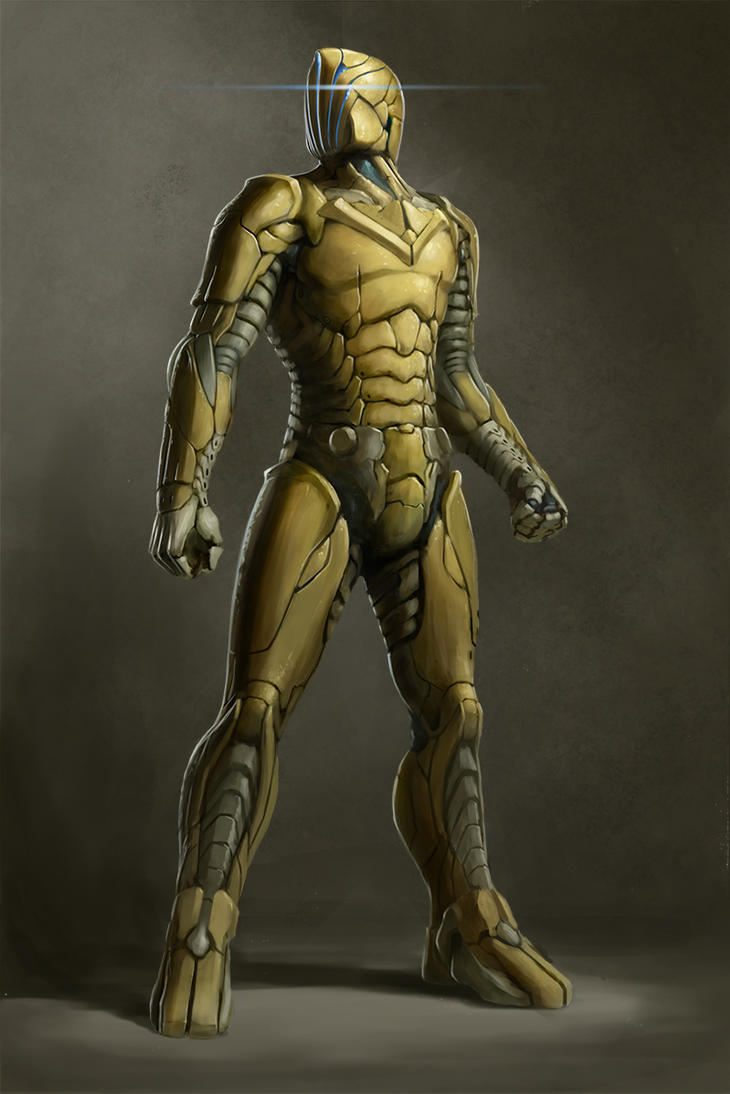 Male sci-fi soldier 01 by Callergi