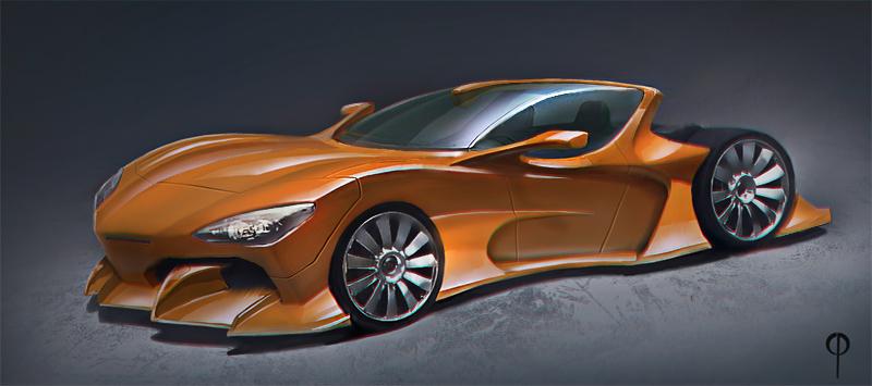 Car design 01 by Callergi